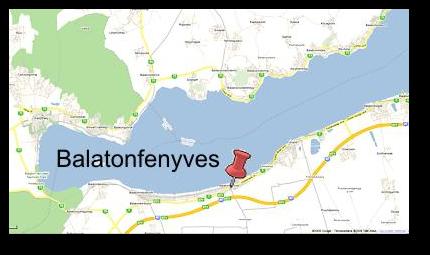 balatonfenyves térkép Balatonfenyves   JuditVilla balatonfenyves térkép